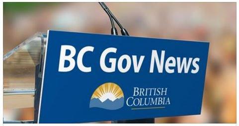 BC Gov News - Announcement