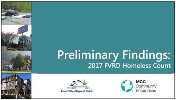 2017 FVRD Homless Count