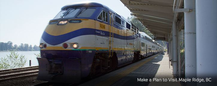 Getting to Maple Ridge by Train