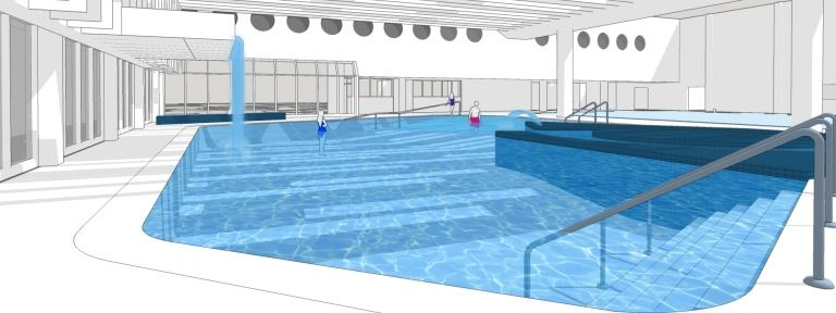 MRLC Pool Improvements - deep end entry