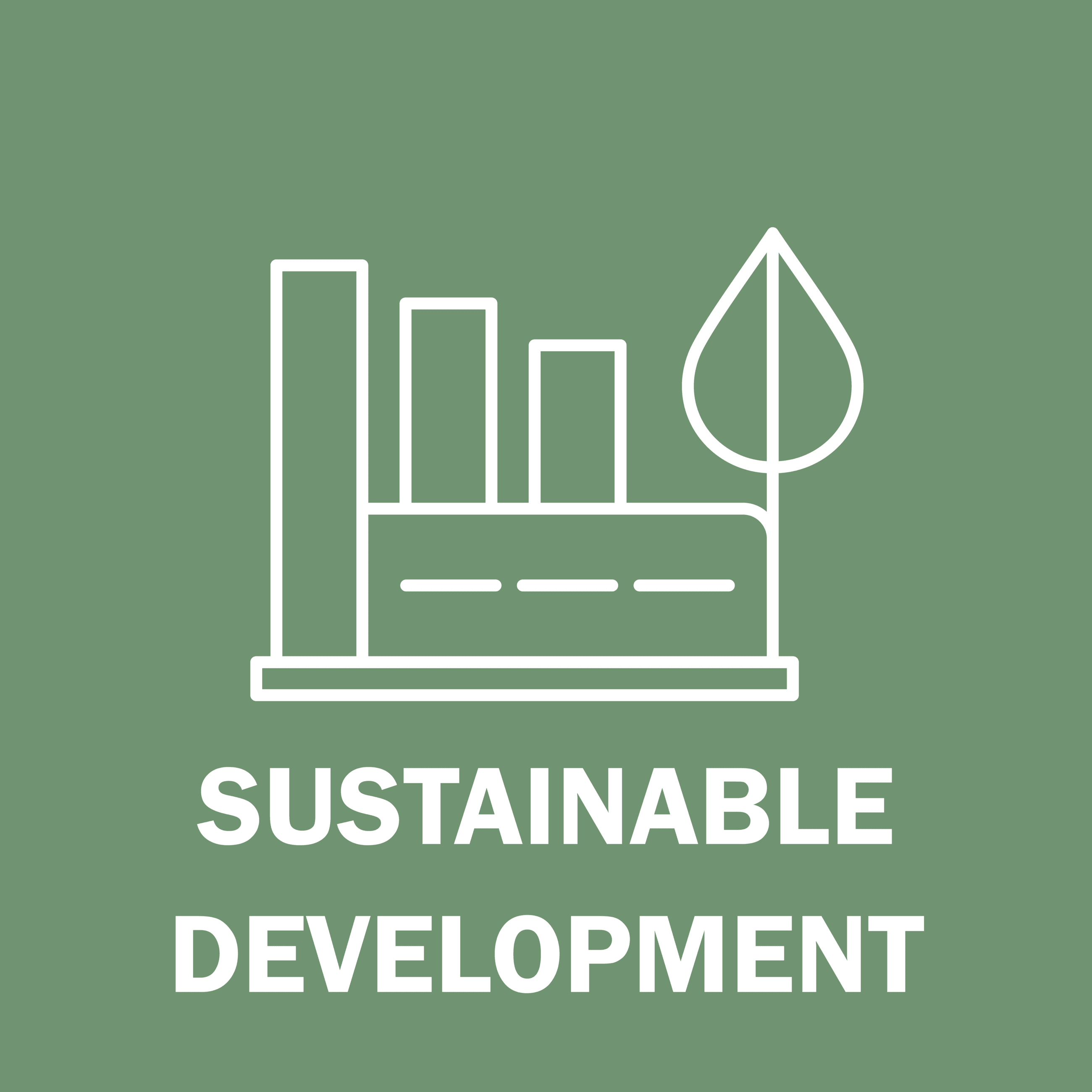 Sustainable Development Button