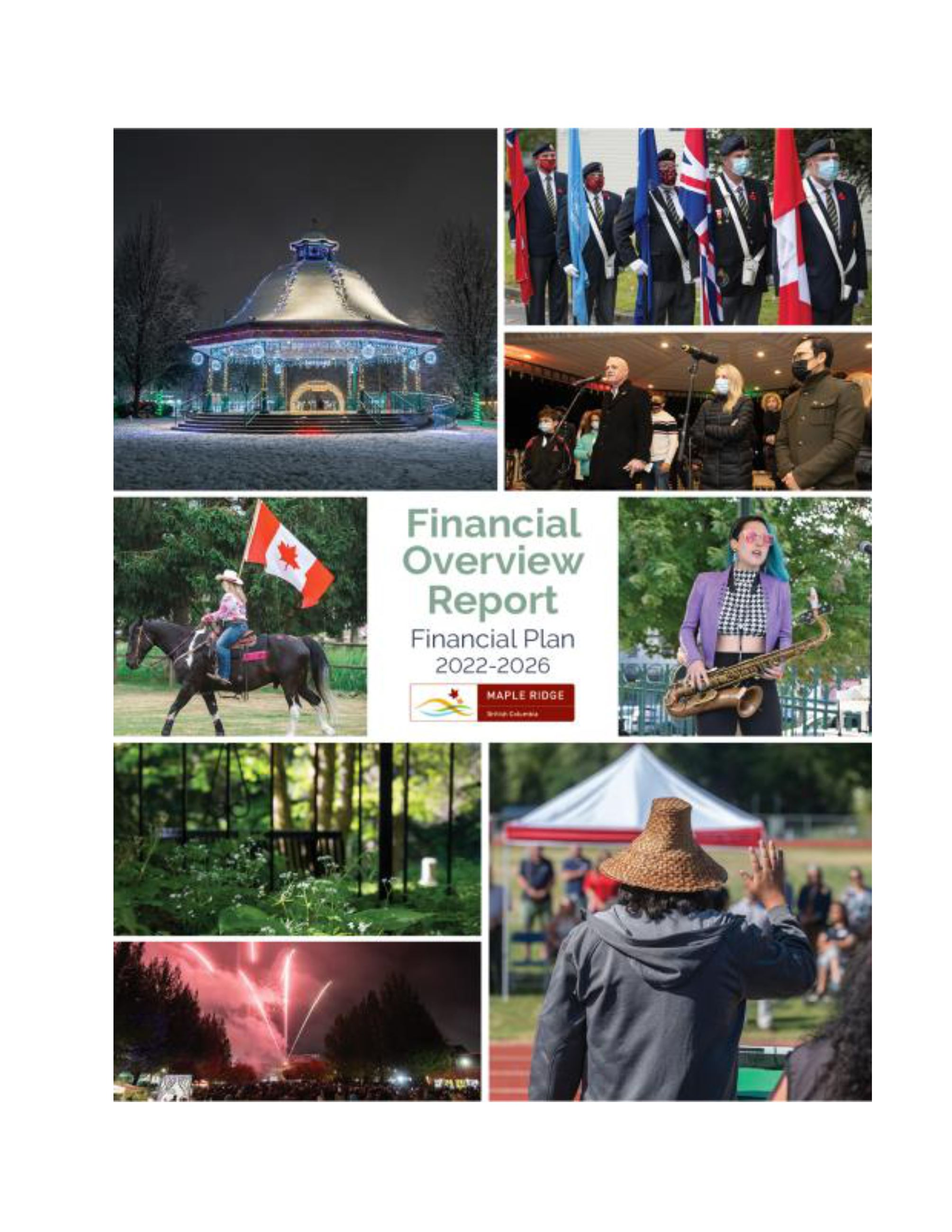 Financial Plan Overview Report Cover
