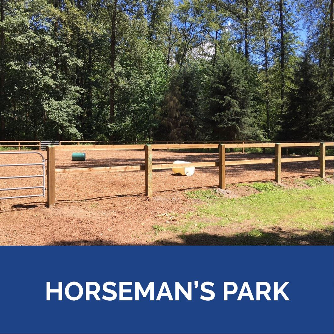 Horseman's Park - Button