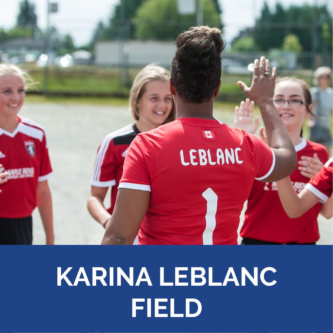 Karina LeBlanc - Button