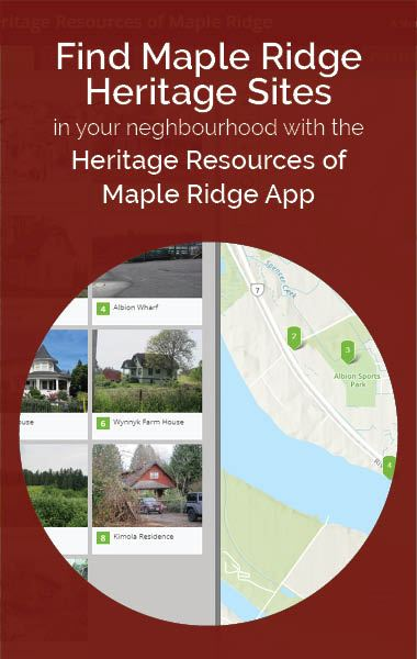 Heritage app button
