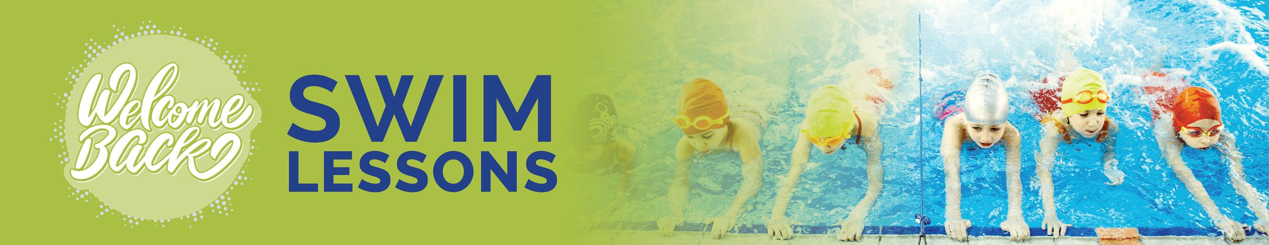 Swimming Lesson Banner
