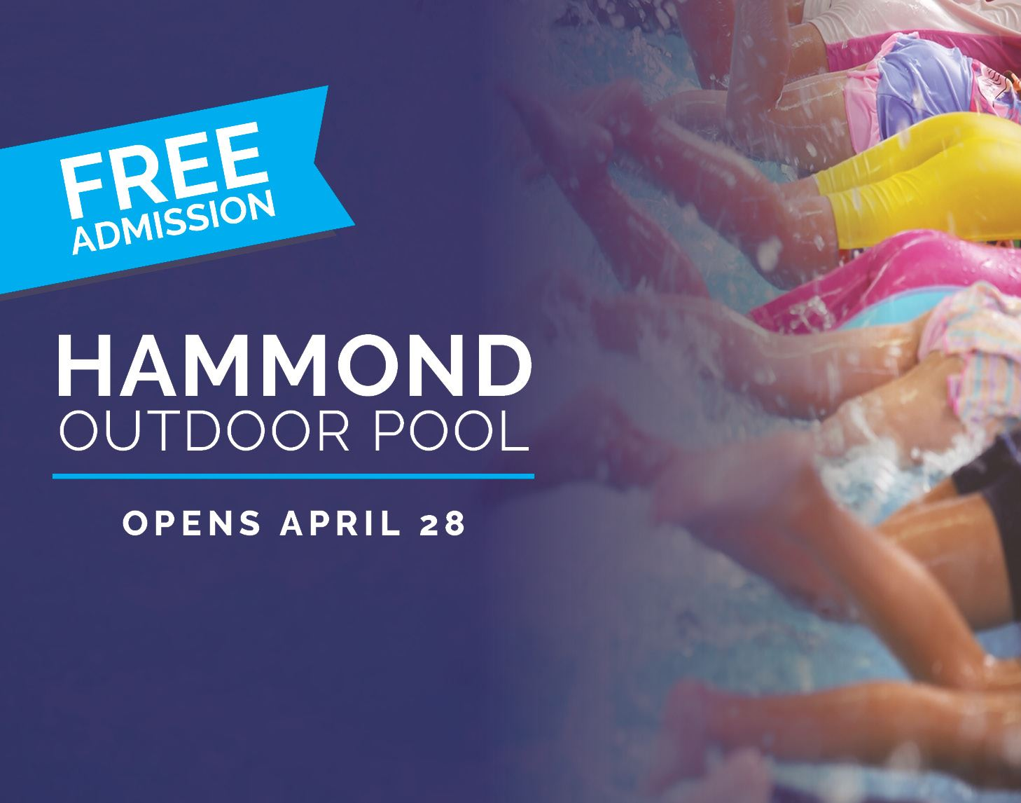 Hammond Outdoor Pool Opening