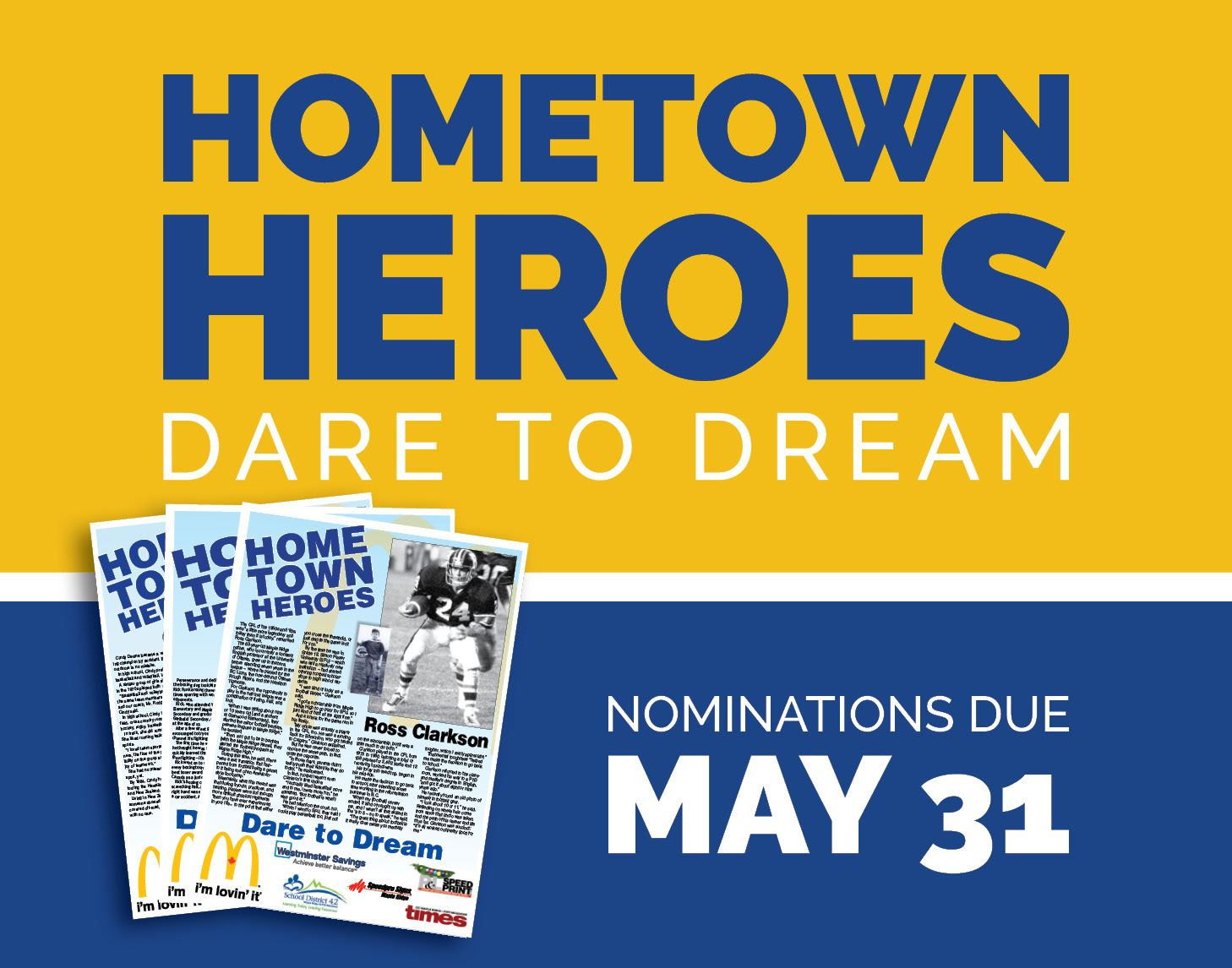 Hometown Heroes Nominate Now!