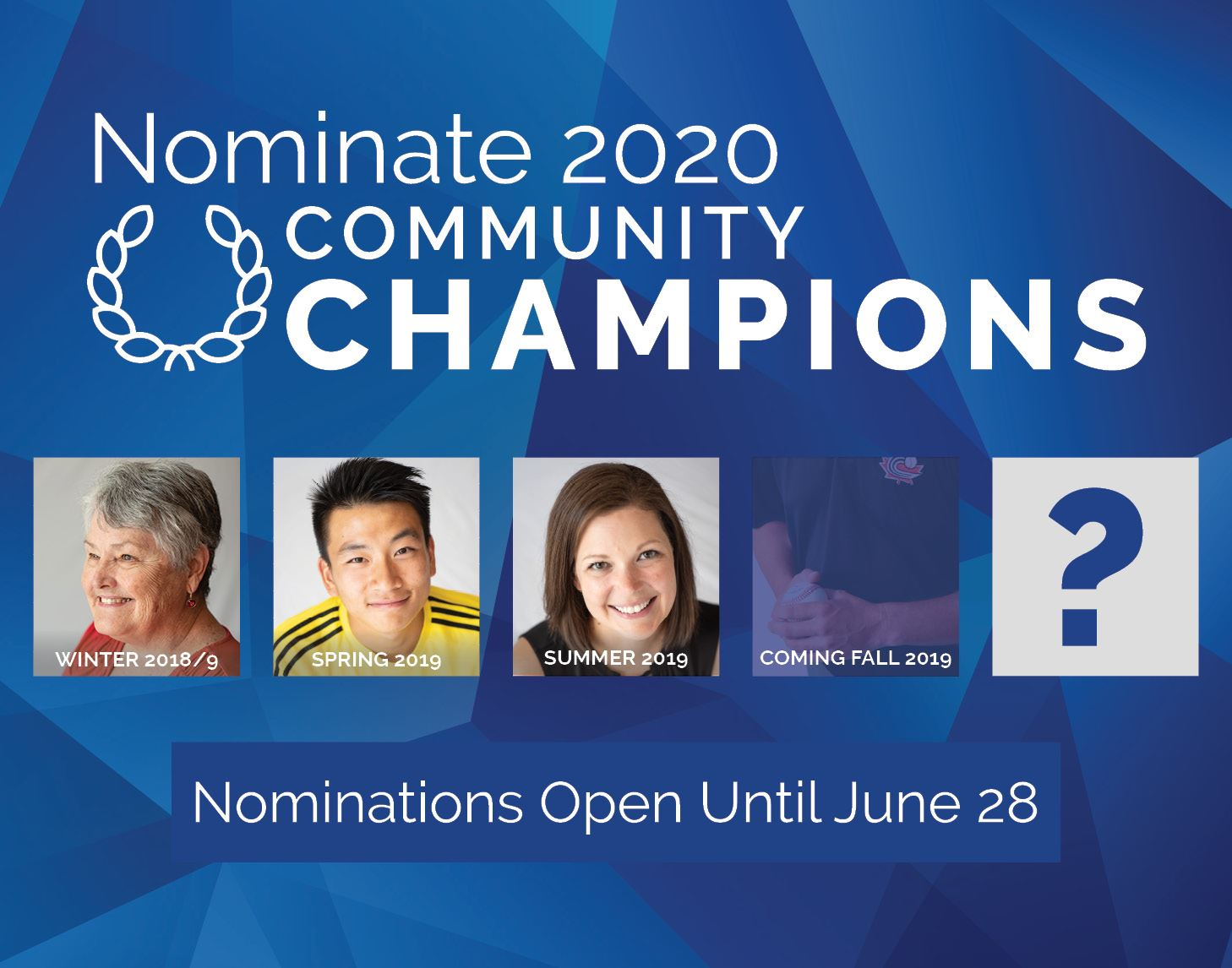 Community Champions 2020 Nominations!