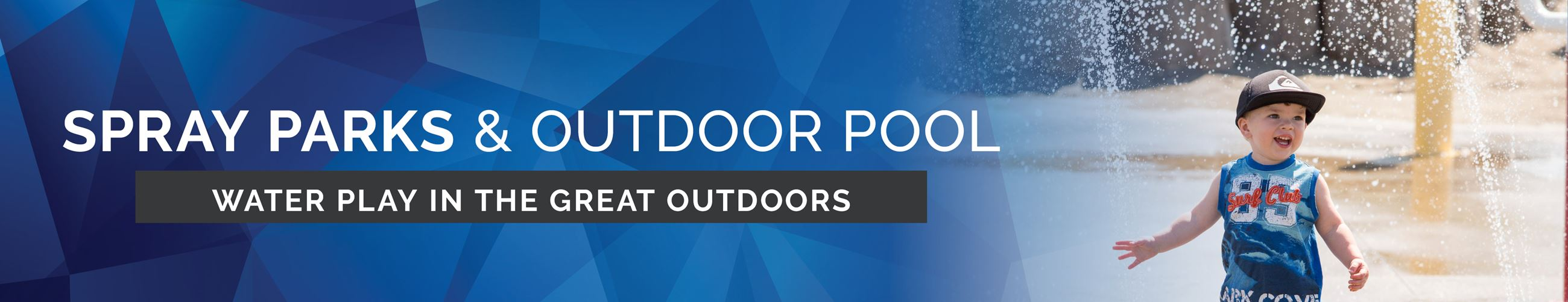 Spray Parks Outdoor Pool Page Banner