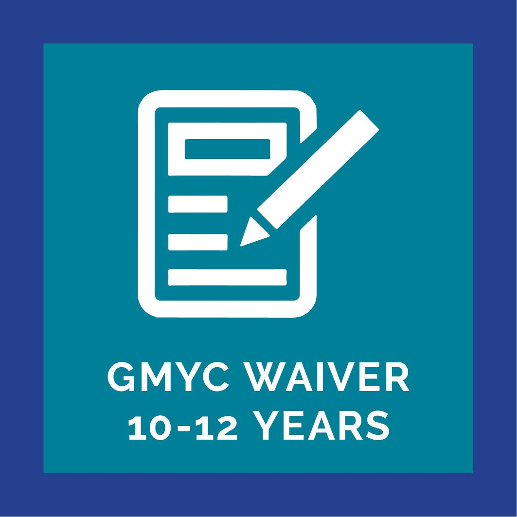 GMYC Waiver 10Y Button
