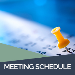 Meeting schedule