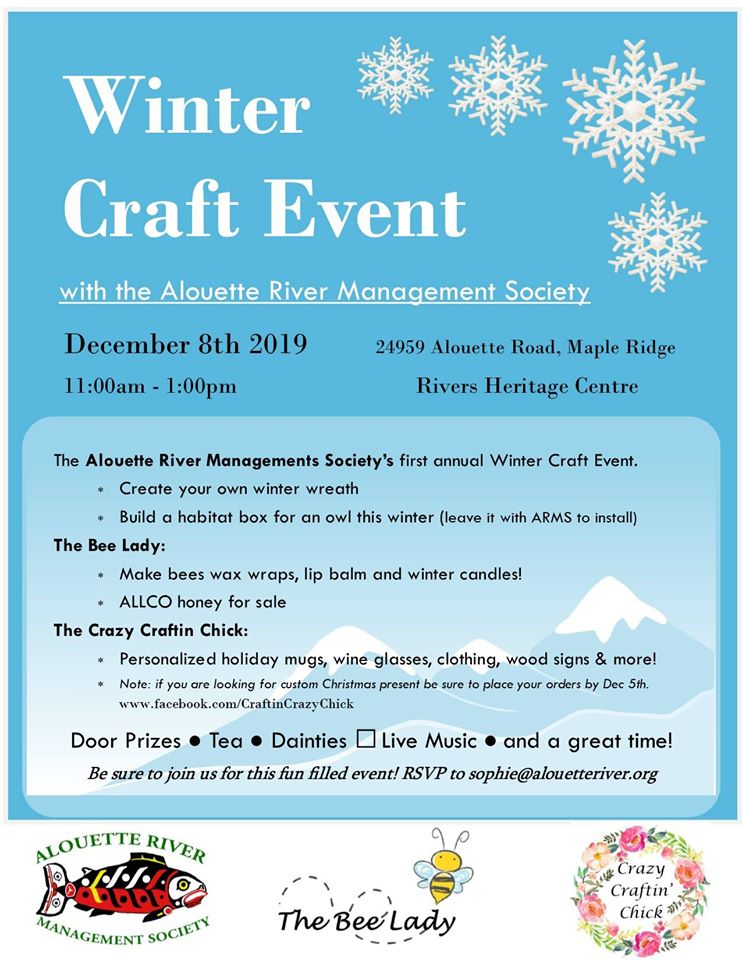 ARMS Winter Craft Event