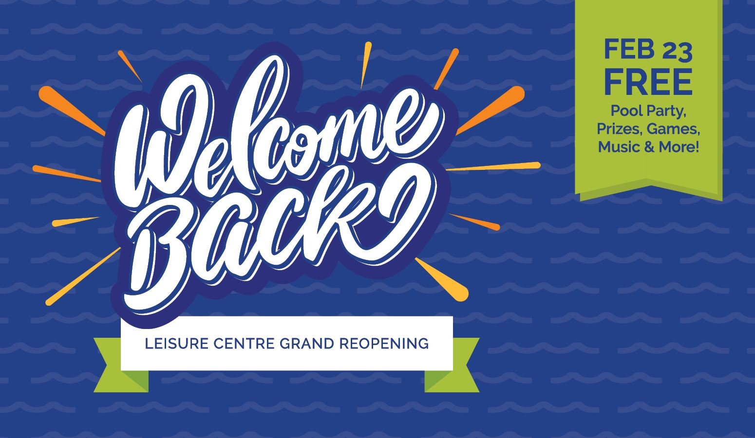 Welcome Back Grand Reopening