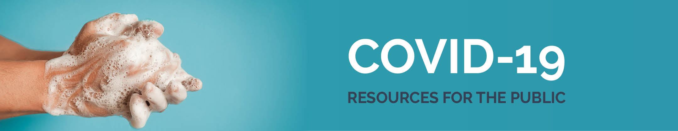 Covid resources banner