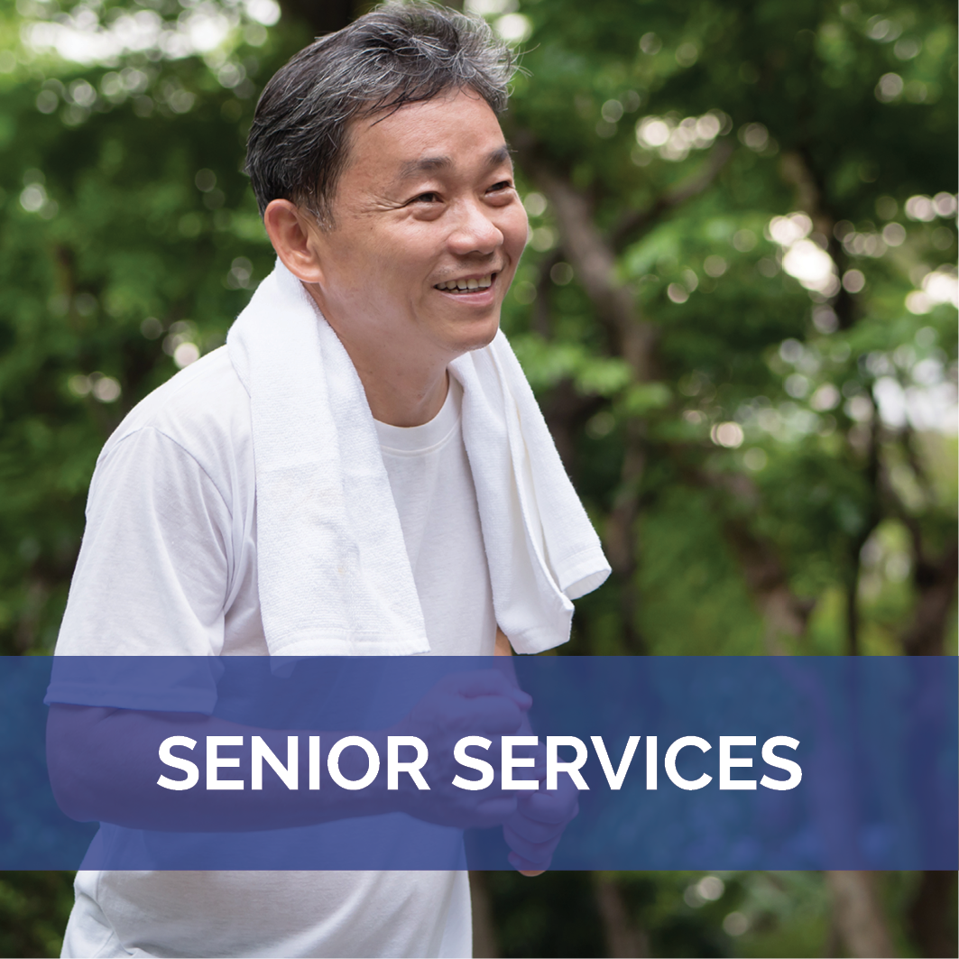 Senior Services Landing Page