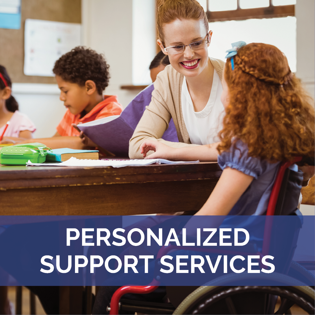 Personalized Support Services Landing Page