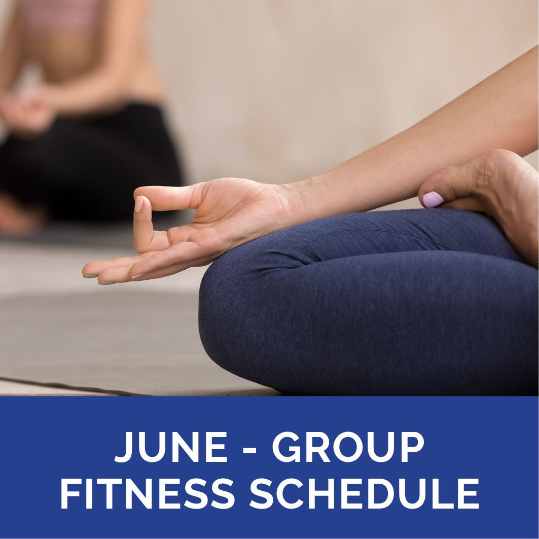 May - Outdoor Group Fitness Schedule