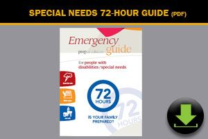 Download: Emergency Preparedness Guide Special Needs