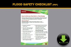 Flood Safety Checklist