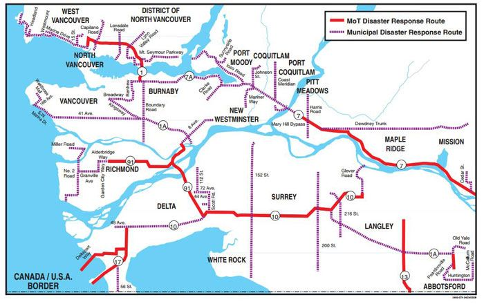Disaster Response Routes