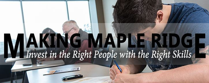 Education is making Maple Ridge