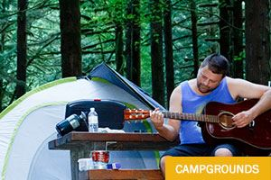 Campgrounds in Maple Ridge, BC