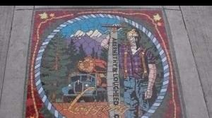 Logging Industry Mosaic - Abernethy and Lougheed Co.