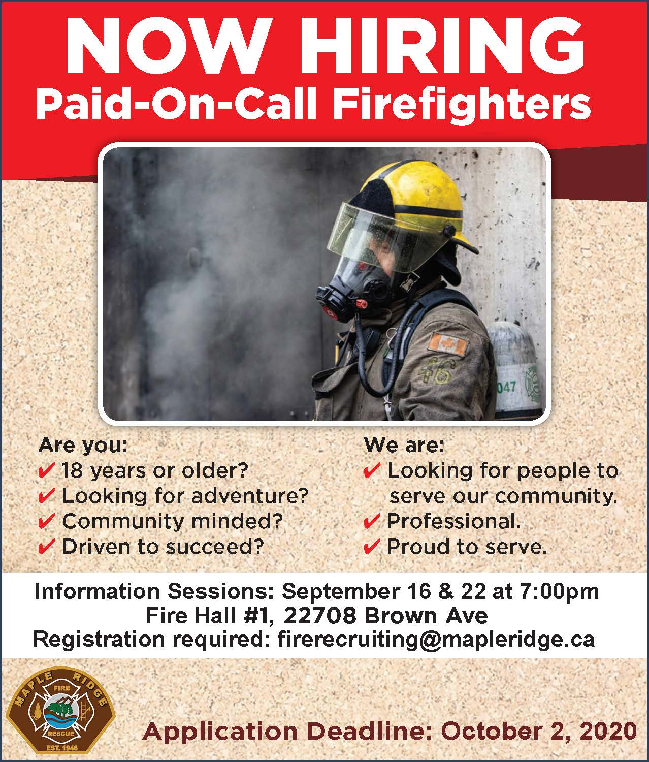 200908 Fire POC recruitment