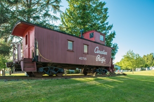 Maple Ridge Museum Caboose