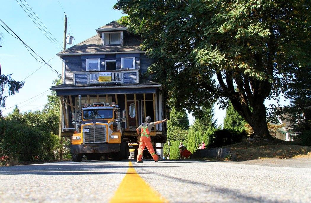Historic Home Moves to Hammond