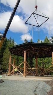 Gazebo Roof Removal